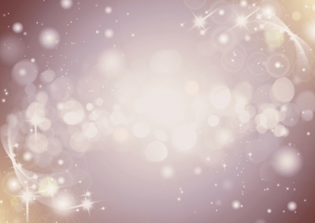 Light silver abstract Christmas background with white snowflakes on purple background soft photo