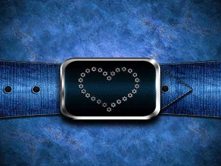 Denim background photo