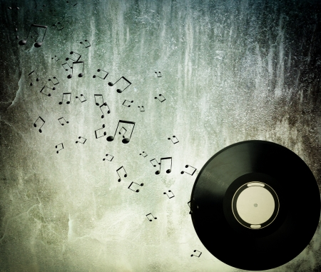 albums: Abstract music background  Stock Photo