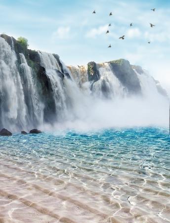 Iguazu valt in de provincie Misiones, Argentinië