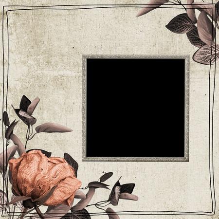 brunch: Romantic invitation card