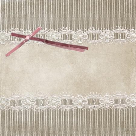 Uitnodigingskaart met ornament achtergrond