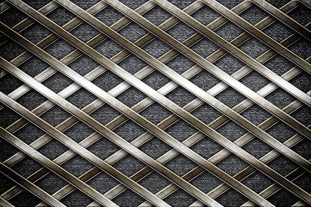 metalen lijnen in jeans achtergrond