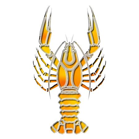 augury: Bright crawfish, zodiac Cancer sign