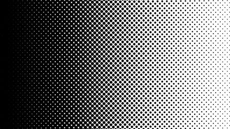 Gradient halftone dots background vertical vector illustration. Black white dots halftone texture. Pop Art black white halftone pattern. Background of Art. EPS10