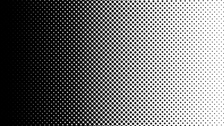 Gradient halftone dots background vertical vector illustration. Black white dots halftone texture. Pop Art black white halftone pattern. Background of Art. EPS10