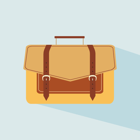 Hand stylish bags. Colored womans bag for lady. Colorful female bag icon. Brown business portfolio. Vector illustration 일러스트