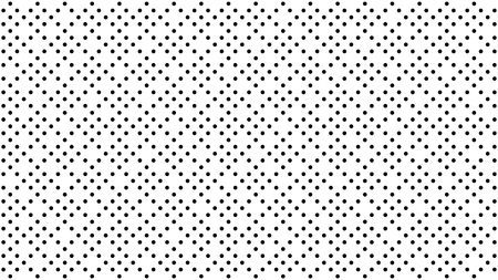 Abstract dots background. Black white random grunge dots texture. Pop Art circle comic pattern. Abstract geometric ornament vector pattern. Template for presentation flyer, business cards, stickers  イラスト・ベクター素材