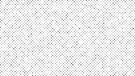 Abstract dots background. Black white random grunge dots texture. Pop Art circle comic pattern. Abstract geometric vector pattern. Template for presentation flyer, business cards, stickers, report