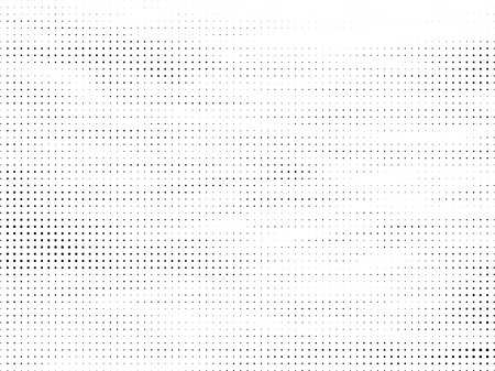 Abstract Halftone gradient dots background. Black white grunge texture. Pop Art circle comic pattern. Polka dots ornament vector pattern. Template for presentation flyer, business cards, stickers