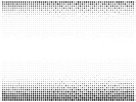 Halftone gradient pattern. Abstract halftone dots background. Monochrome dots pattern. Grunge texture. Pop Art, Comic small dots. Vector design for presentation, business cards, report, flyer, cover