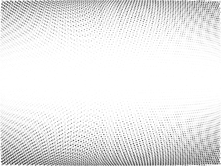 Halftone gradient pattern. Abstract halftone dots background. Monochrome dots pattern. Wave Grunge texture. Pop Art, Comic small dots. Vector design for presentation, report, flyer, cover