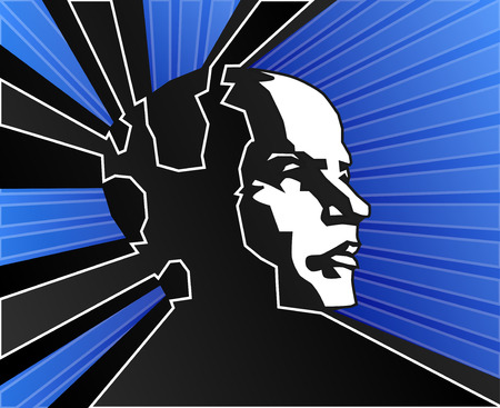 psychisch: Blauwe menings macht