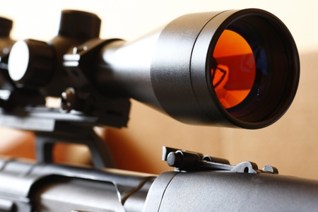 hunting rifle: Sniper rifle scope