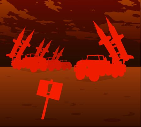 ballistic missile: red missile warfare