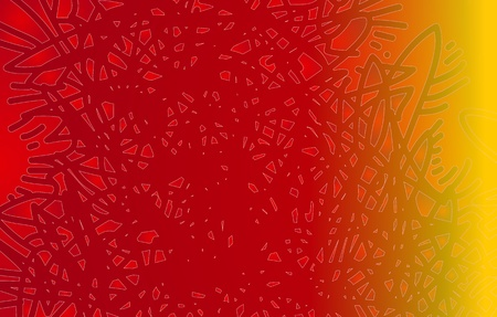 Background red yellow abstract