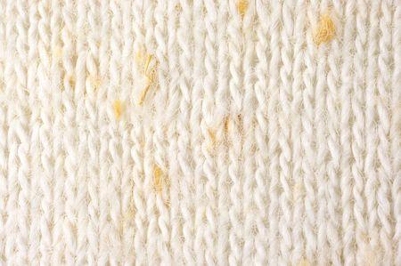 plain stitch: Stockinet of linen yarn as background.