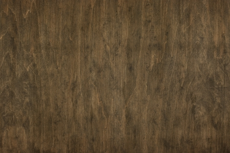 Natural scratched dark wood texture as background. photo