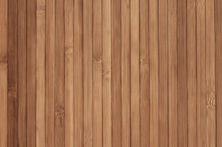 Wooden surface of bamboo as background. photo