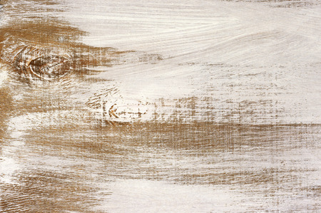 Grungy painted wood texture as background. Stock Photo