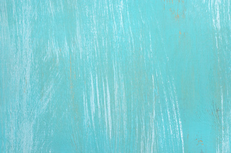 Turquoise painted wood background. photo