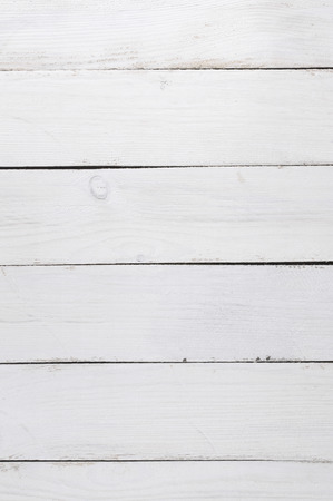 White painted wood background. photo