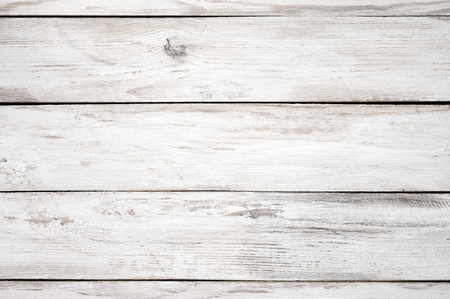 painted wood: Vintage weathered shabby white painted wood texture as background.