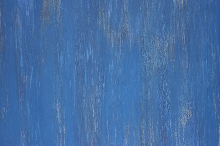 Rustic Dark Blue Painted Wood Texture As Background Stock Photo
