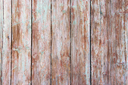 Distressed weathered painted wood texture close-up as background. Reklamní fotografie