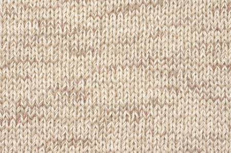 Knitted Cloth Plain Stitch Texture Of Melange Neutral Colored