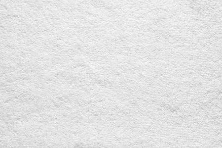 White terry cloth texture as background. Banco de Imagens