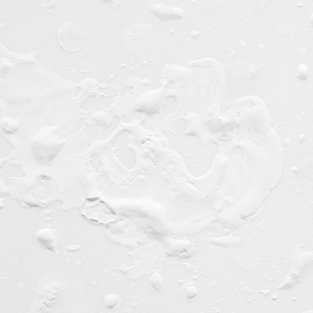 White paint stains texture as abstract background.