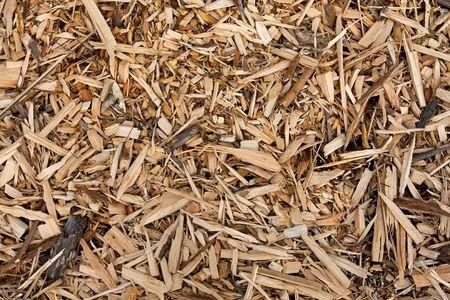 paillis: arri�re-plan monochromatique de bois et �corce chips paillis