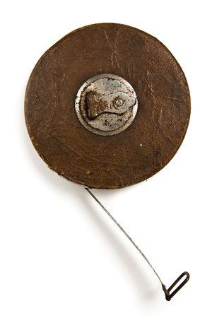 crank: vintage cig�e�al viento cinta m�trica norma m�s blanco