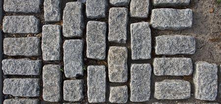 cobble: cobble pavimentazione in pietra nel parco