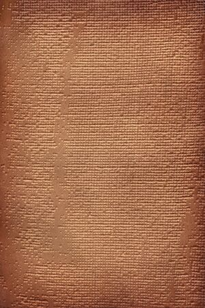brown leathercraft tooled vintage book cover with texture and border
