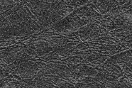 vintage stained bumpy grained leather background Stock Photo