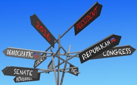 青空以上選挙 2016年選択肢概念の投稿します。 写真素材