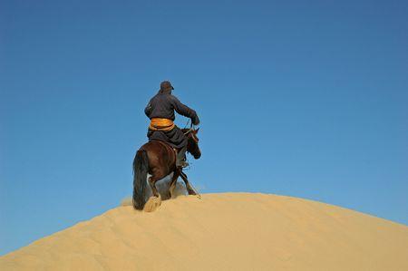 uomo a cavallo: Cavaliere mongolo