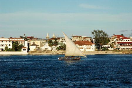 zanzibar: Zicht op Zanzibar Stockfoto
