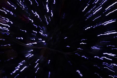 luminaire: Light beams from garland.