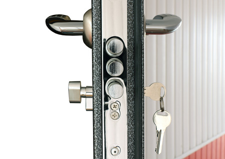 handle: door lock