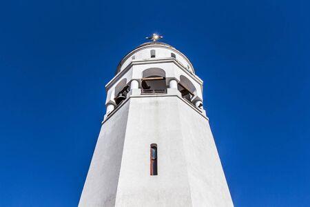 church bell: church bell tower Stock Photo