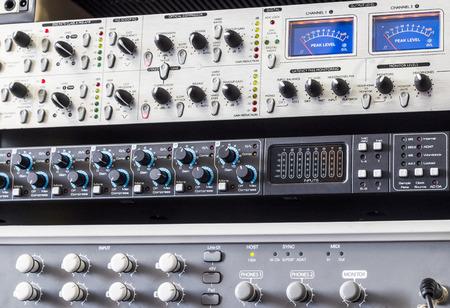 the equipment: studio equipment