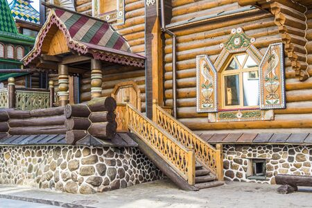 stoop: a porch of a wooden house