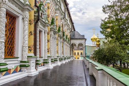 love dome: Kremlin in the city of Sergiev Posad