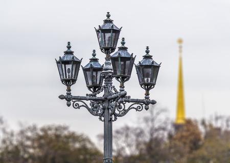 venician: vintage street lamp Stock Photo