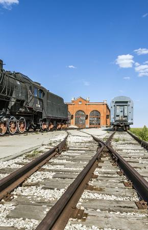 abandoned: Abandoned railway station
