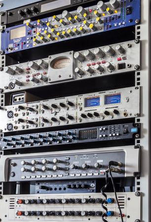 muziekstudio rack