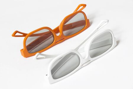 3dtv: A pair of 3D glasses